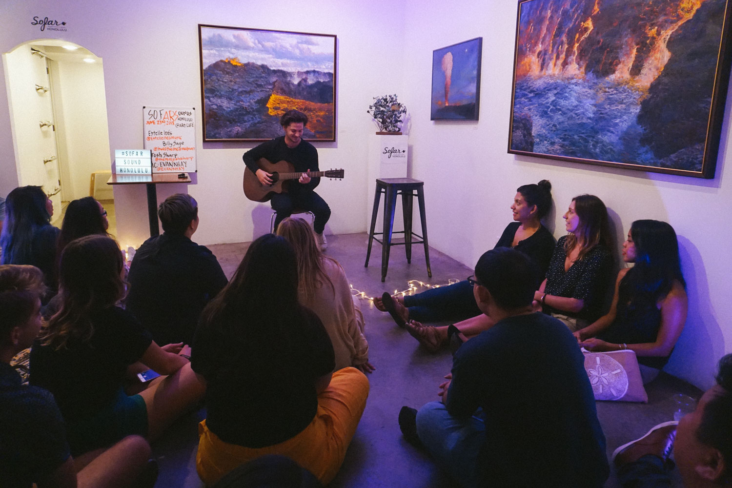 Sofar Sounds Recap